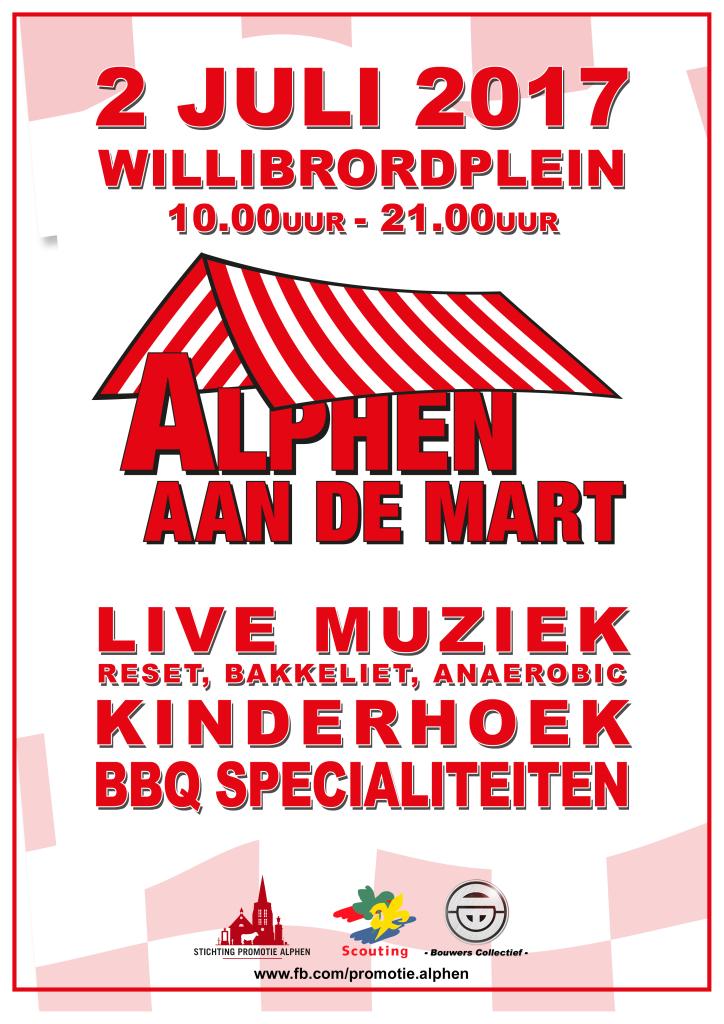 Poster Alphen aan de mart 2017