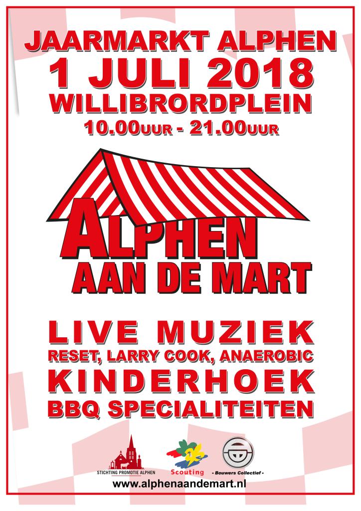 Poster Alphen aan de Mart 2018